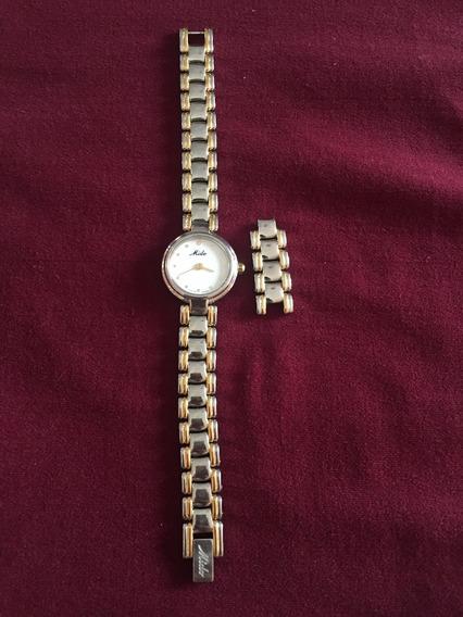 Reloj Mido Dama Cristal Zafiro Swiss Made Buen Estado