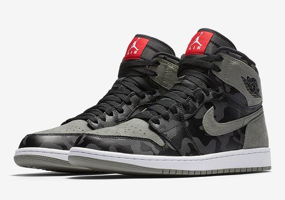 Tênis Nike Jordan 1 Retro High Camo 3m Shadow
