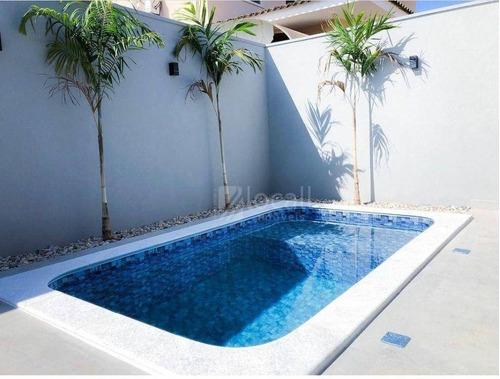 Imagem 1 de 2 de Casa Com 3 Dormitórios À Venda, 213 M² Por R$ 1.250.000,00 - Residencial Gaivota I - São José Do Rio Preto/sp - Ca2669