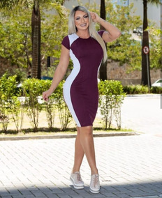 6dfff6e292 Vestido Feminino Moda Evangélica Social Top Roupa Barata  cm