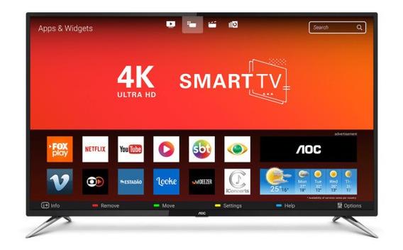 Smart Tv Led 50 Aoc Le50u7970s 4k Uhd 60hz Melhor Preço