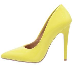 294f082cb Sapatos Femininos - Sapatos Amarelo com o Melhores Preços no Mercado ...
