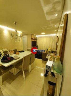 Apartamento Com 2 Dormitórios À Venda, 58 M² - Vila Galvão - Guarulhos/sp - Ap7218