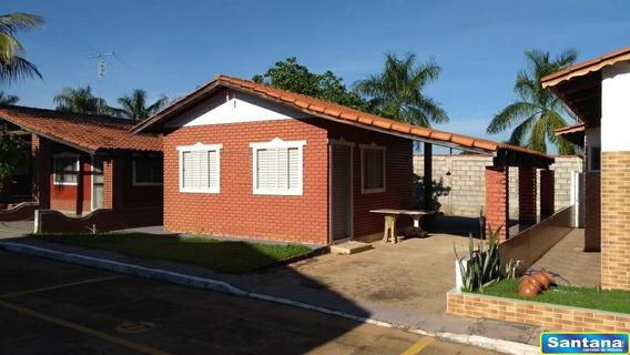 05606 - Casa De Condominio 1 Dorm, Mansoes Das Aguas Quentes - Caldas Novas/go - 5606