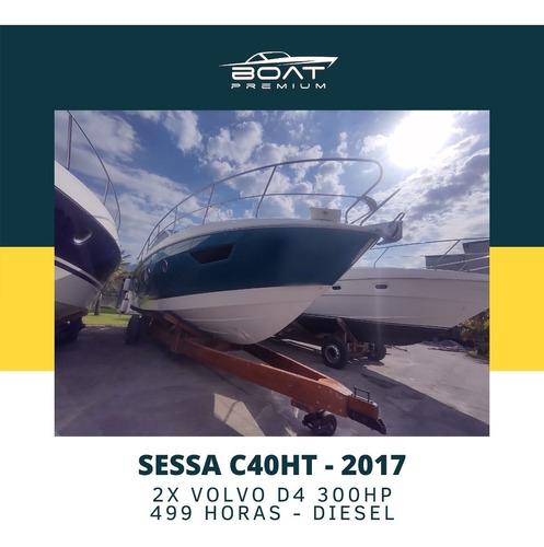 Imagem 1 de 14 de Sessa C40, 2017, 2x Volvo D4 300hp - Sedna - Phantom