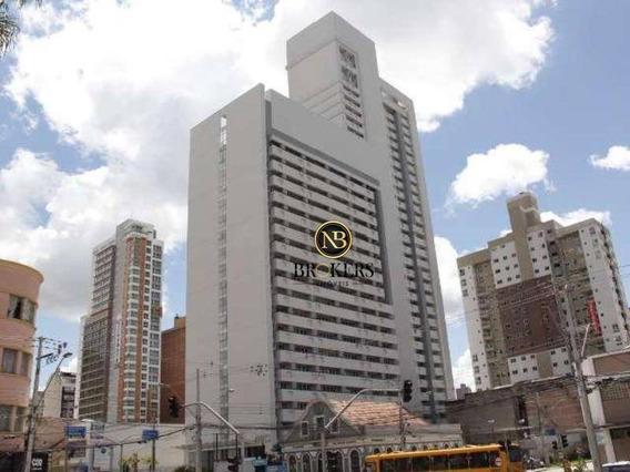 Sala À Venda, 42 M² Por R$ 195.871,00 - Centro - Curitiba/pr - Sa0041