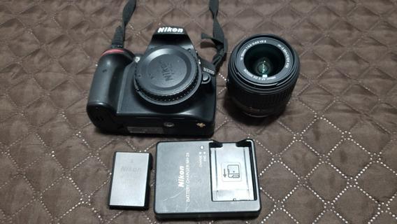 Câmera Nikon D3200 + Lente 18-55mm - 8806 Cliques