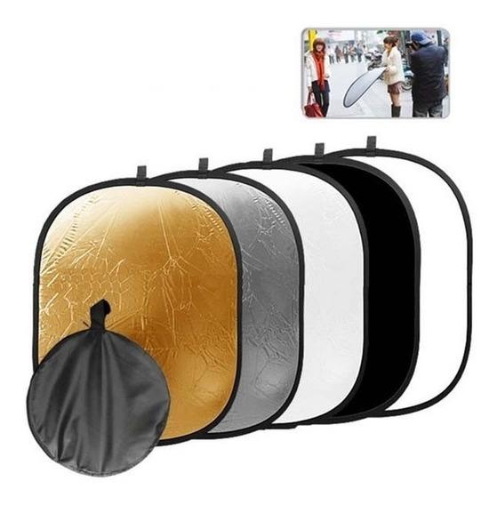 Rebatedor Oval 5 Em 1 100x150cm 5x1 100x150 Cm Case