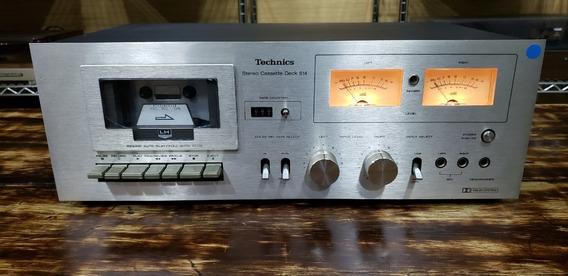 Tapedeck Technics - Modelo Rs-614