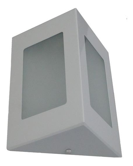 05 Arandela Triângulo Parede Muro Alumínio Ext Int 1005a.