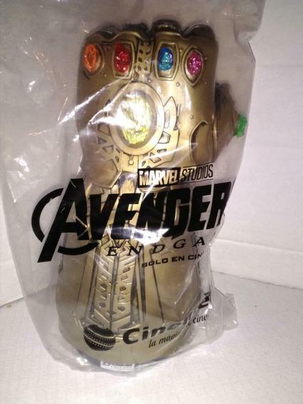 Avengers Guante De Thanos Led Nueva Y Cerrada Cinemex