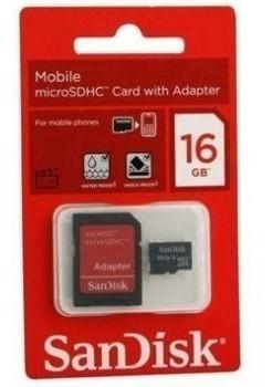Kit 5x Cartão De Memória Micro Sd 16gb Com Adaptador