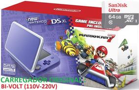 New 2ds Xl 64gb + 300 Jogos Nintendo 3ds + Ds + Emuladores