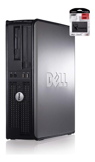 Cpu Dell Dual Core 4gb Ssd 120gb