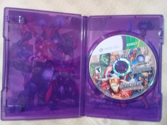 Xbox 360 Kinect - Avengers. Battle For Earth. T. Bom Estado.