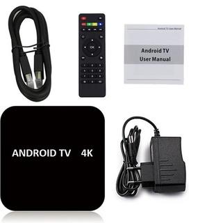 Convertidor Smart Tv Box 4k 2019 + Mini Teclado Iluminado