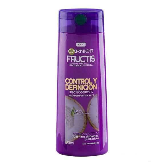 Garnier Fructis Shampoo Control Definicion Rizos 350ml