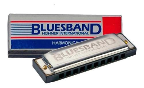 Armonica Blusera Hohner Blues Band Diatonica En C Do - Cuotas