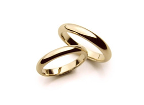Par De Aliancas Ouro 18k Casamento Com Garantia Eterna