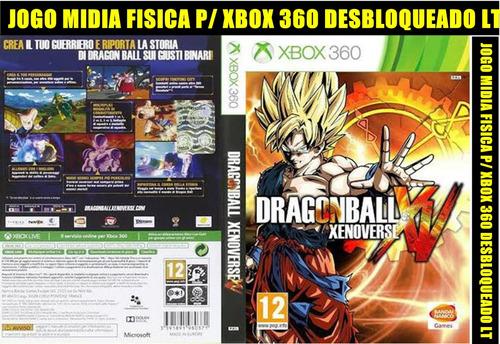 Dragon Ball Xv Xenoverse P/ Xbox 360 Desbloqueado Lt