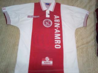 Jersey Ajax De Holanda 2x1