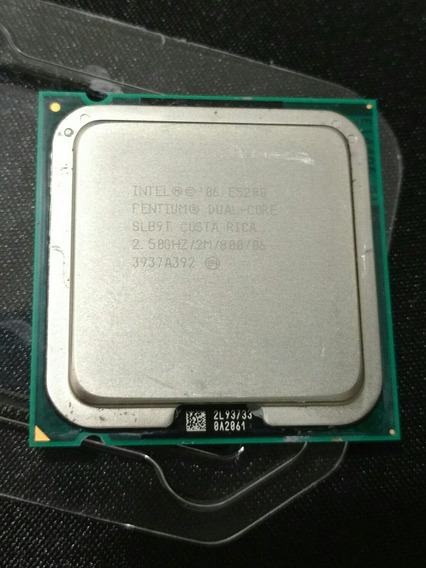 Processador Pentium Dual Core E5200 2,5ghz/2m/800 Com Cooler