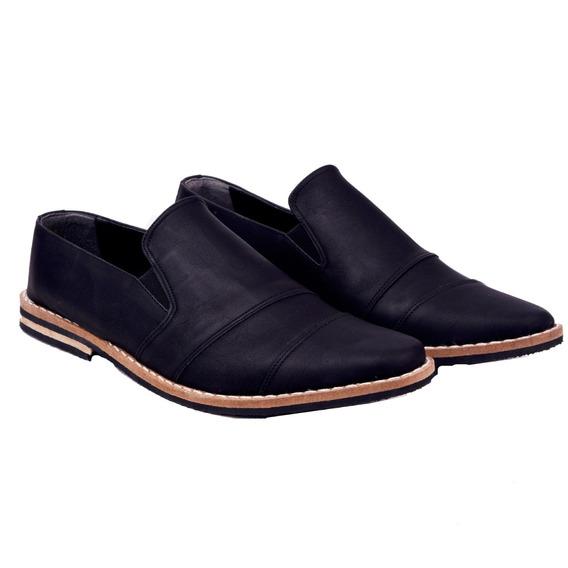 Customs Ba Zapatos Hombre Botitas Vestir Botas Eco Cuero Det
