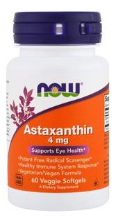 Astaxantina 4mg! 60cp Now !!! Novo Val 2021!