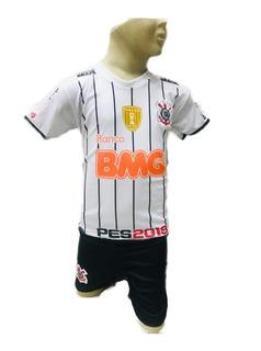 Uniforme Infantil Corinthians Timão Menino Esporte Futebol