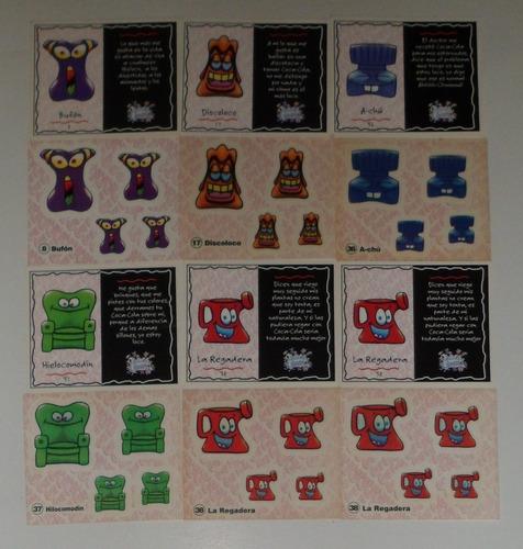 Hielo Locos Coca Cola Coleccion Stickers Y Tarjetas (6agc)