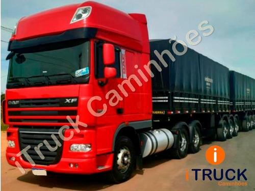 Daf 510 Xf 6x4 Ano 2019/19 = Scania Volvo 540 480 2651 Mb