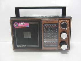 Rádio Am/fm Usb/sd Euromax Em-511u Ler Descrição