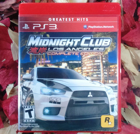 Midnight Club Los Angeles - Mídia Física Ps3