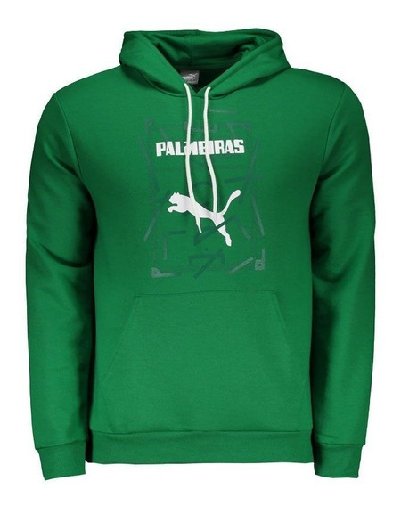 Moletom Puma Palmeiras Graphic Hoody Verde