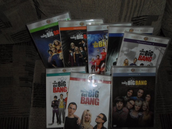 The Big Bang Theory Serie Tv 08 Temporadas 1-8 Seminueva Dvd