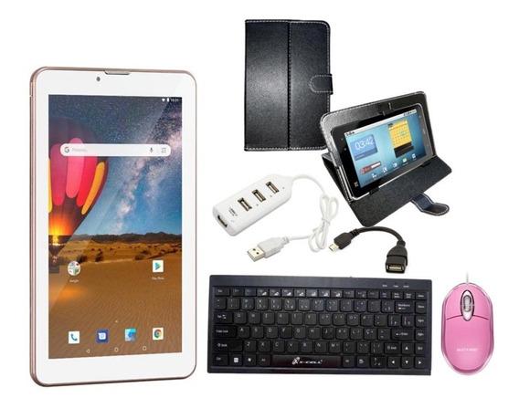Tablet Mini Computador Android Celular 3g Wifi Mouse 16gb