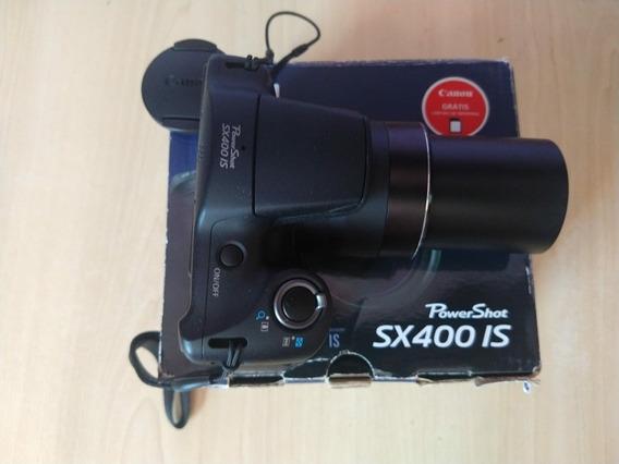 Câmera Canon Sx400 Is Impecável Completa.