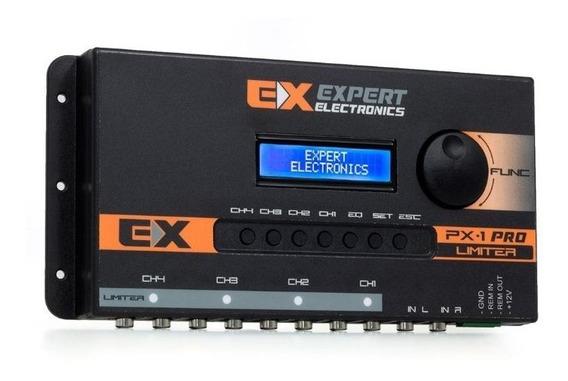 Processador De Áudio Banda Expert Electronics Px1 Pro 4 Vias