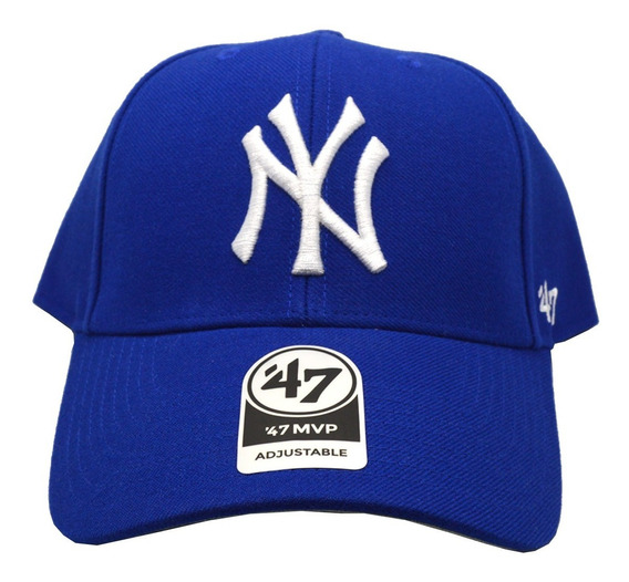 Gorra 47 Yankees Unisex Azul Mlb Bmvp17wbvrya