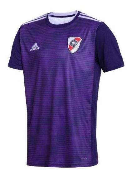 Camiseta River Plate 2019 Suplente Violeta Opcional Numero