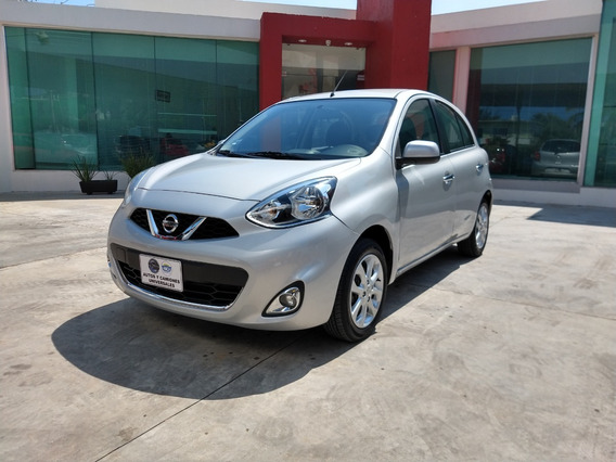 Nissan March 1.6 Advance Mt 2018 Plata