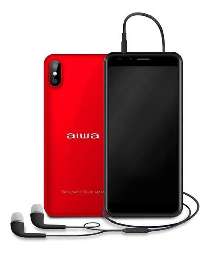 Imagen 1 de 4 de Celular Aiwa Awm999 2gb 16gb Dual Mah Red + Regalo