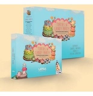 Tortas Y Candy Party - Decoración De Mesas Temáticas - Lesa