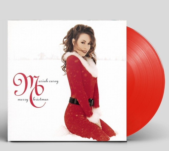 Lp Mariah Carey Natal Merry Christmas Lacrado Vinil Vermelho