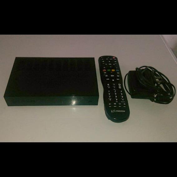 Decodificador, Control Y Antena De Movistar Tv, Sin Linea.