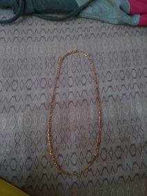 Colar Banhado A Ouro, 60cm