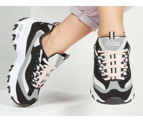 femenino mercado carpeta  Zapatilla Mujer Skechers - D'lites - Cool Change | Mercado Libre