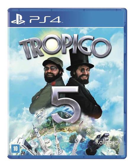 Tropico 5 Ps4 Novo Lacrado Alemão Games