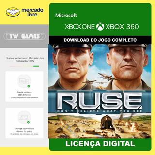 Ruse Digital Retrocompativel Xbox One 360
