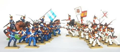 Set De Soldados Granaderos Y Realistas Guerra De Banderas